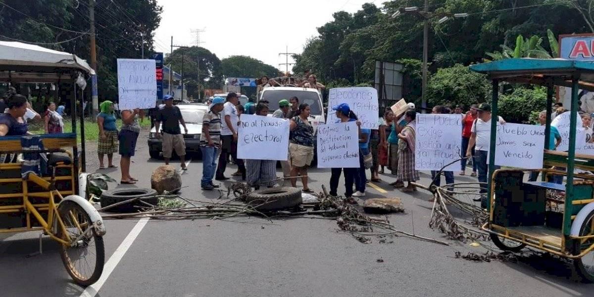 Bloqueos por inconformidad ante elecciones y conflictividad territorial afectan el suroccidente del país