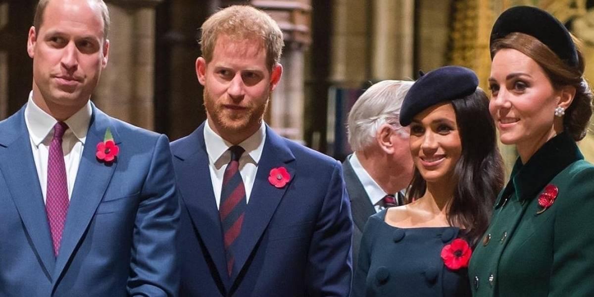 Diferencias entre William y Harry surgieron antes de la aparición de Meghan Markle