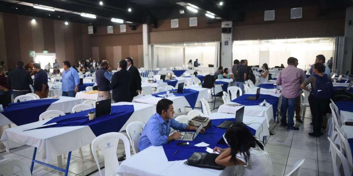 Se inicia cotejo de actas de resultados de elecciones