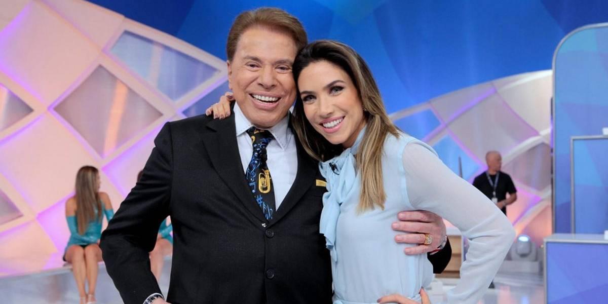 Patrícia Abravanel questiona Silvio Santos: 'Sério que você deu uns beijinhos na Hebe Camargo?'