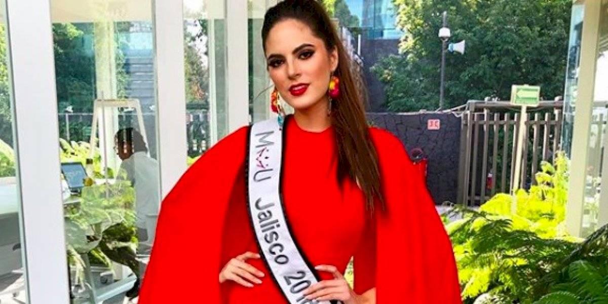 Sofía Aragón de Jalisco ganadora de Mexicana Universal 2019