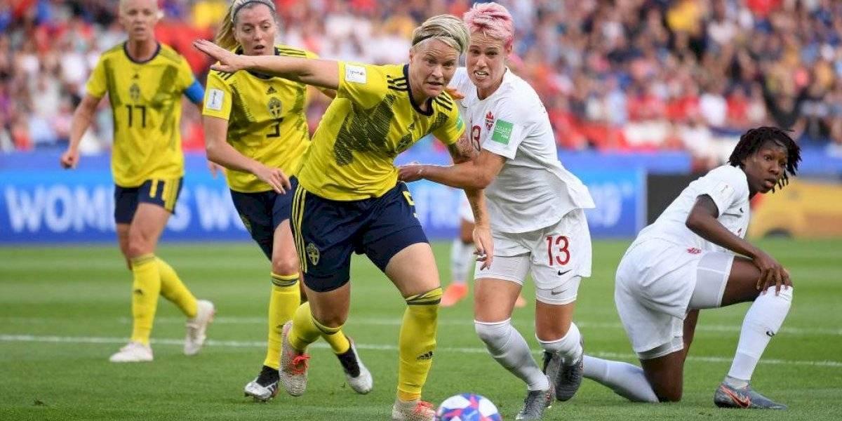 Suecia avanza a cuartos de final del Mundial Femenil