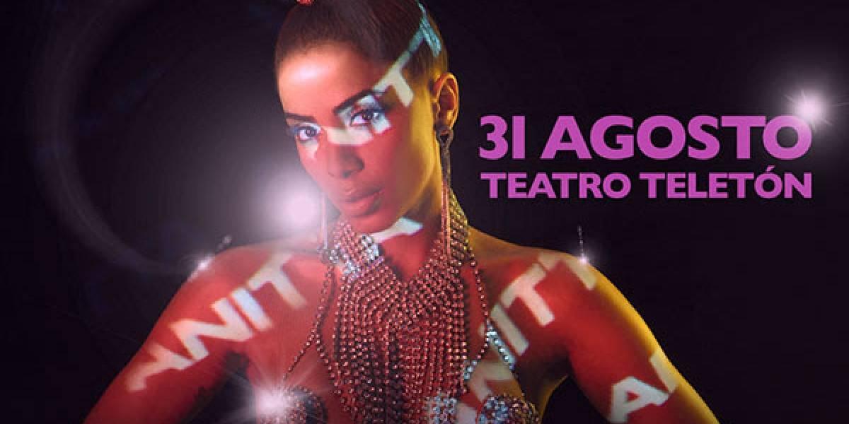 Anitta fija show en solitario en Chile
