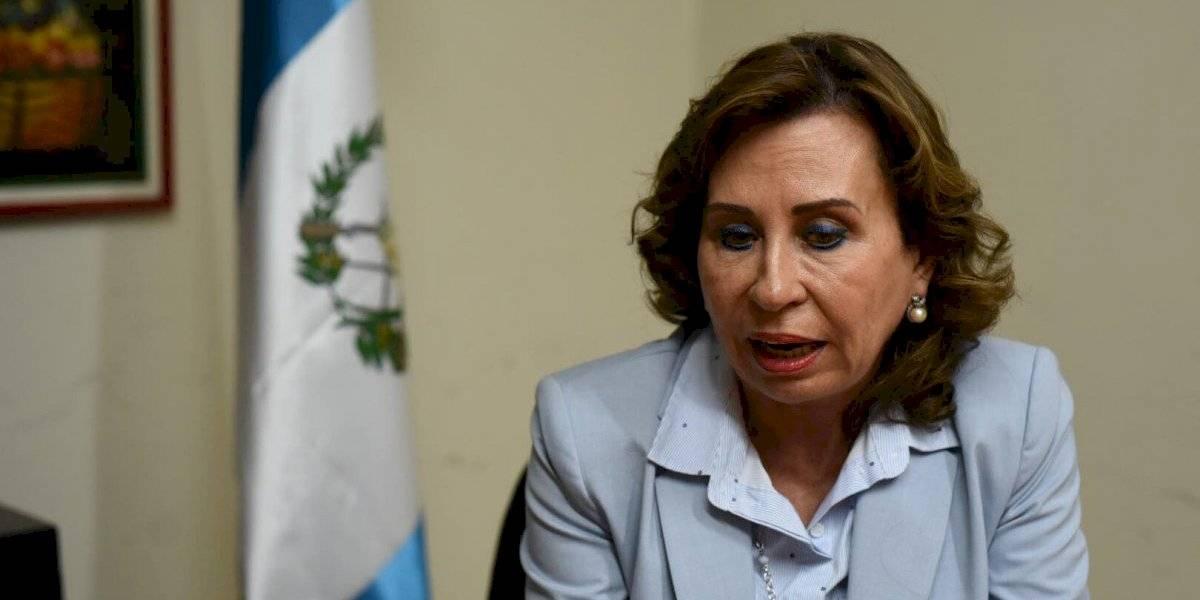 Sandra Torres paga fianza de Q800 mil para poder salir de prisión
