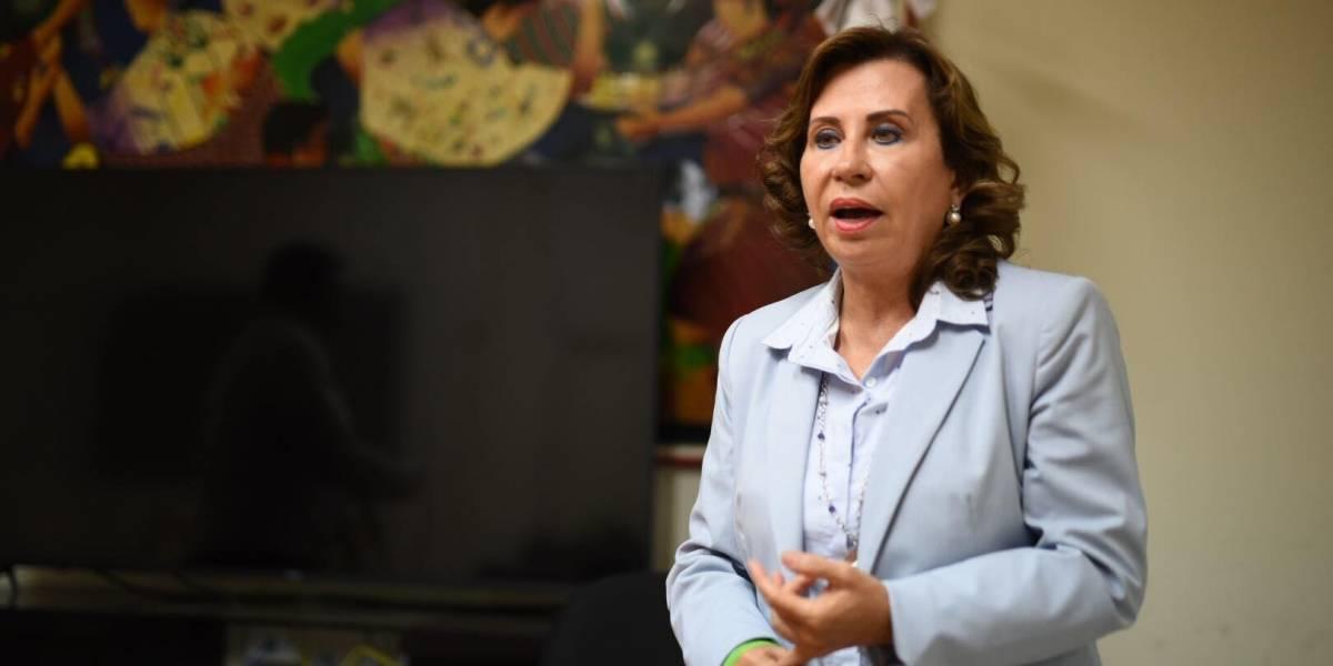 VIDEO. Sandra Torres: Incertidumbre del proceso electoral fue generada por el presidente
