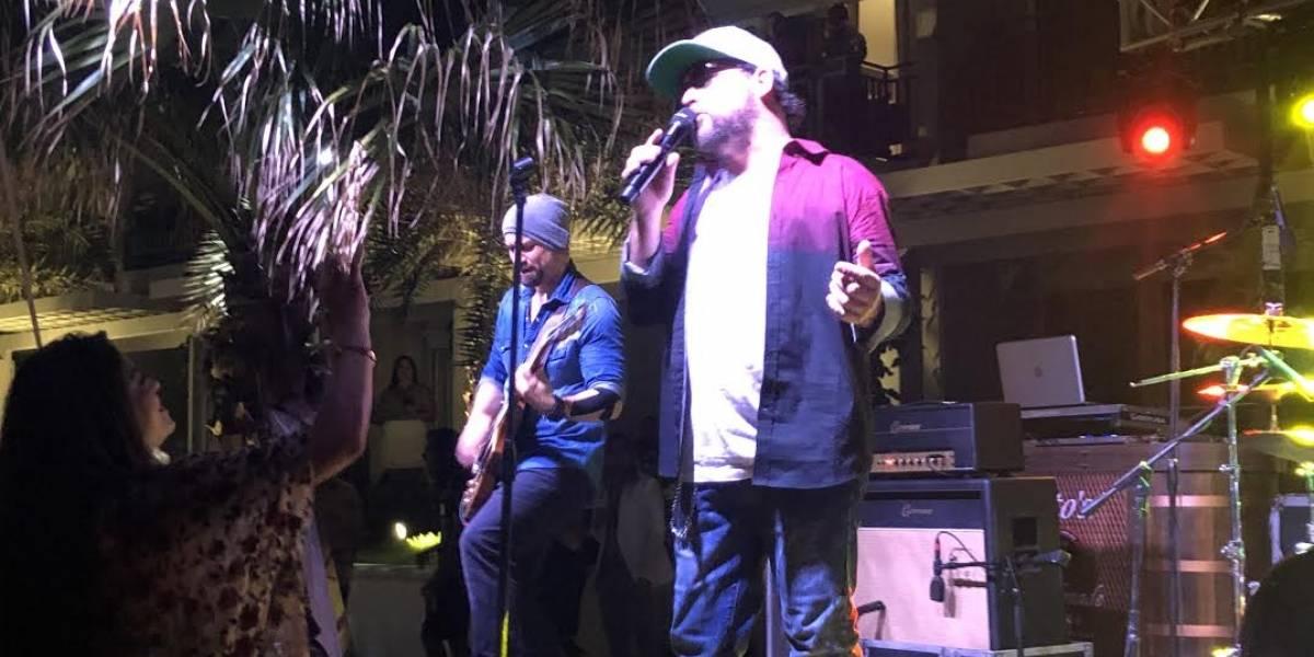 Gustavo de La Secta AllStar dedica canción a The Loverboy