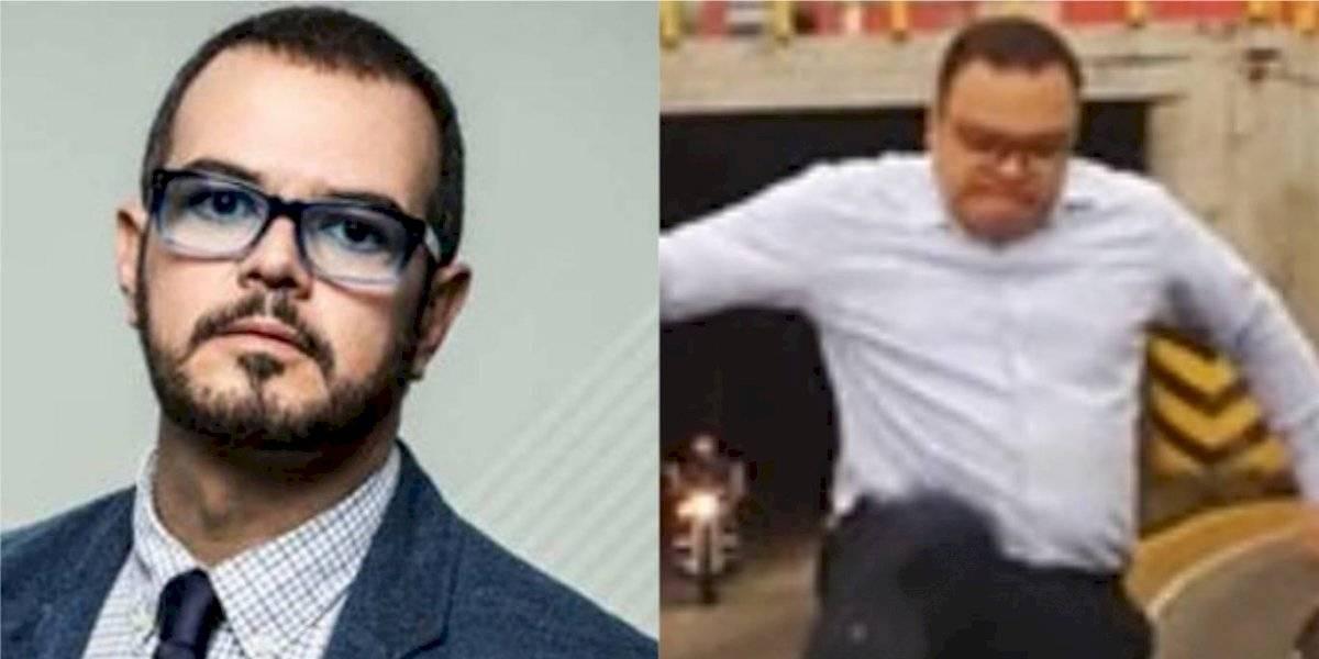 Aleks Syntek reacciona al video del hombre de la Aguilar Batres