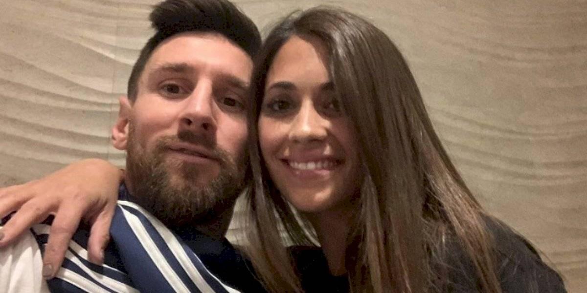 La felicitación de Antonela Roccuzzo a Messi por su cumpleaños