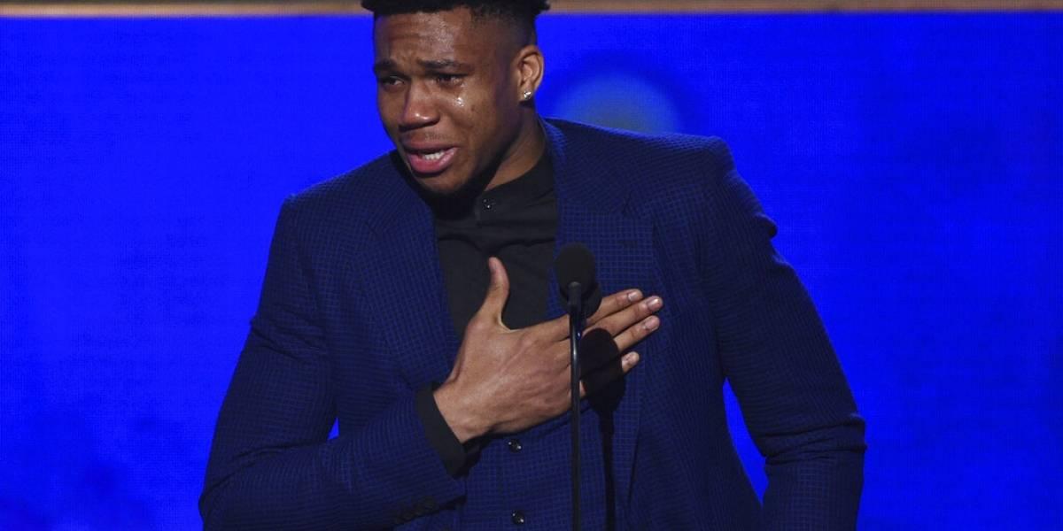 Antetokounmpo de los Bucks es el MVP de la NBA