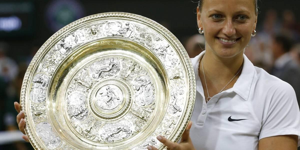 Kvitova decidirá en los próximos días si jugará en Wimbledon