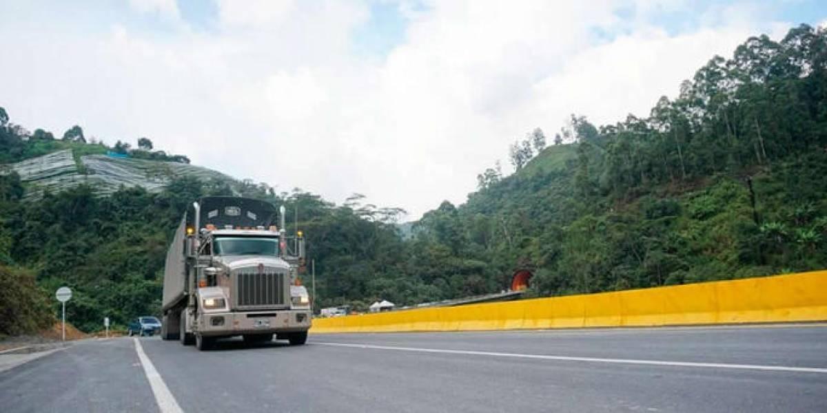Tiroteo al occidente de Bogotá tras robo de una tractomula
