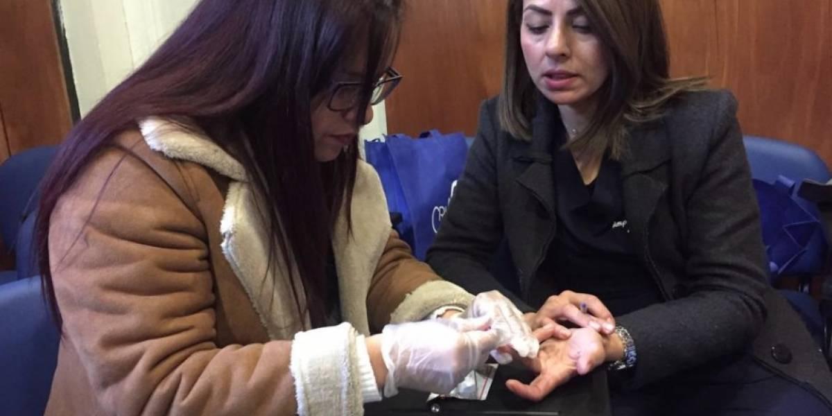 Asociaciones Migrantes acuden a Minsal para capacitarse en la aplicación del test rápido de VIH