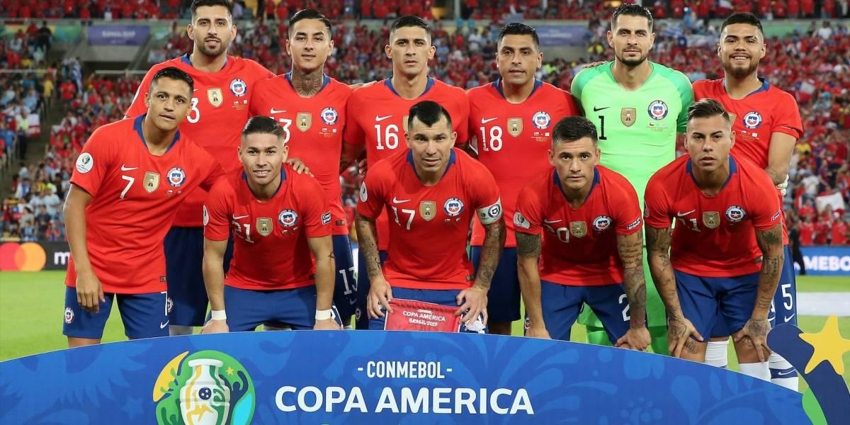 ¡Baja sensible! Figura de Chile se perdería el partido contra Colombia tras sufrir una lesión