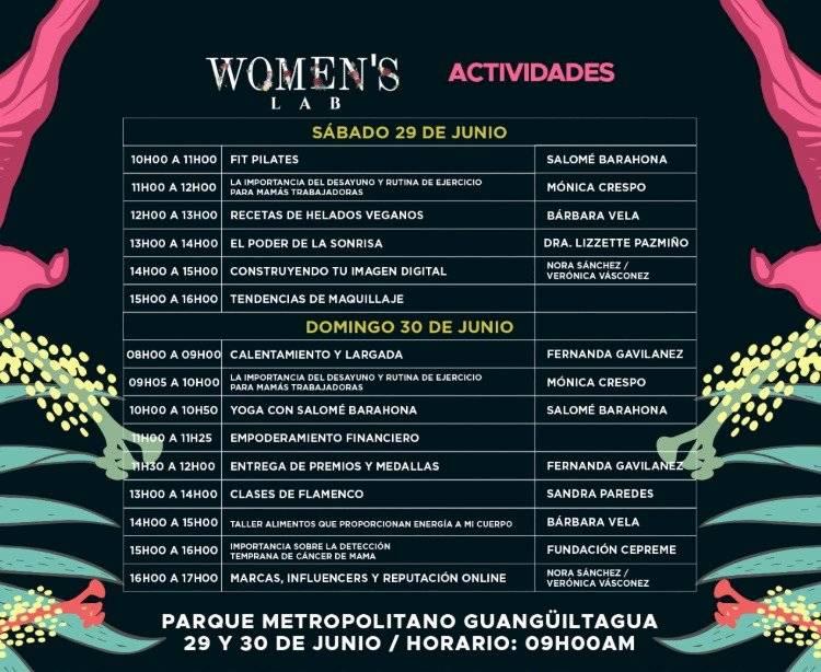 Actividades del Women