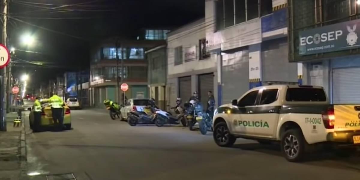 Delincuentes vestidos de policías participaron en millonario robo en el norte de Bogotá