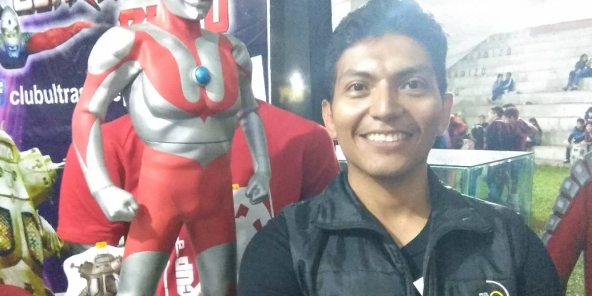 Carlos Oyola y su experiencia como único cosplayer de la Saga Ultraman