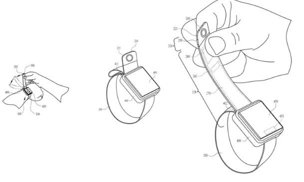 Interesantes noticias para los amantes de Apple Watch: Apple patentó un reloj con cámara en la correa