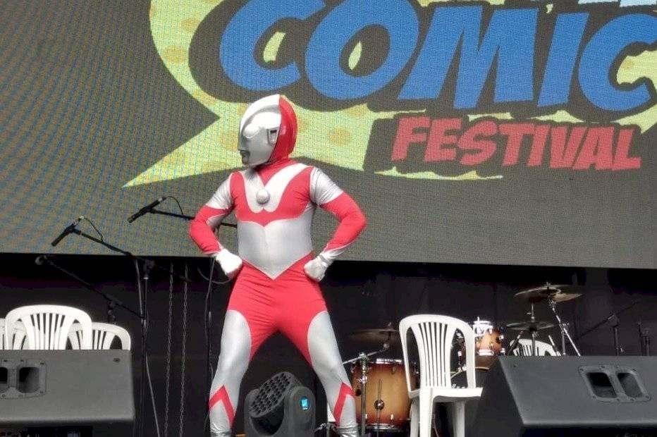 Carlos Oyola participó en el Día del Comic Festival 2019 en Lima- Perú