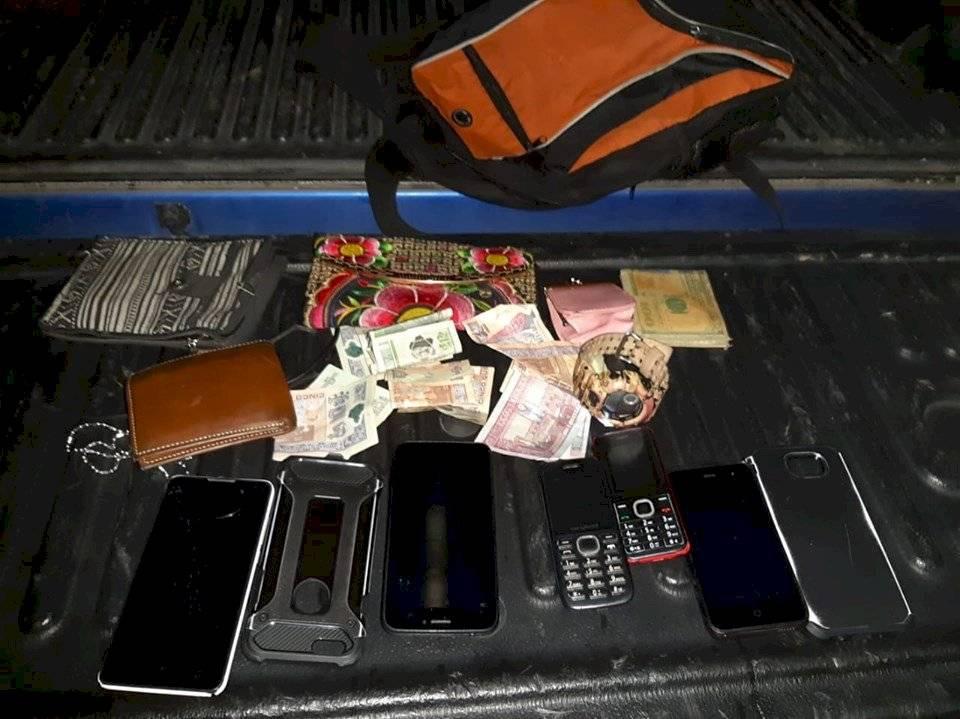 capturan a asalta buses en Escuintla