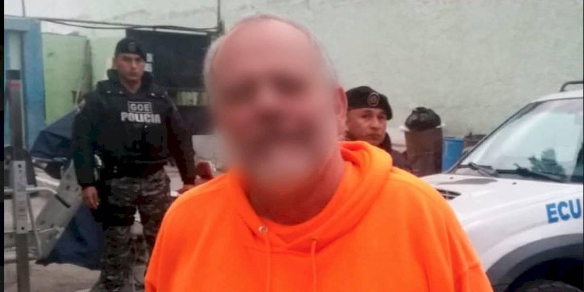 Trasladan a Centro de Rehabilitación de Ambato a Carlos Pareja por factores de riesgo