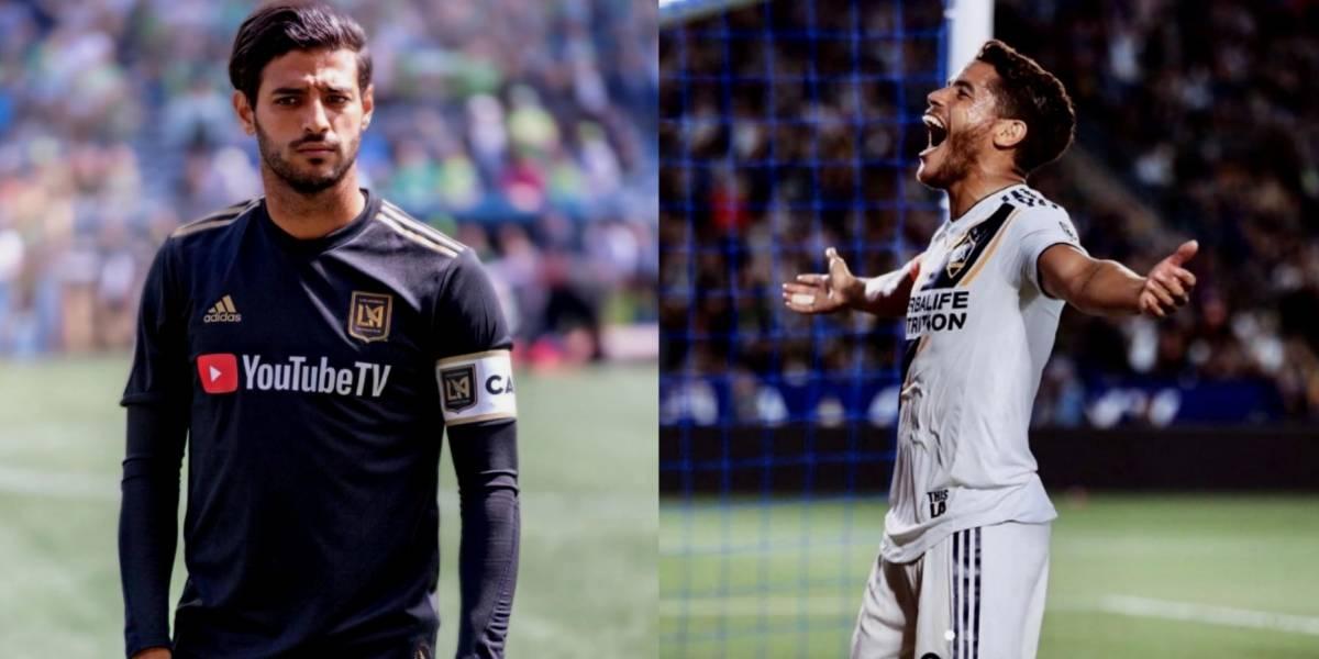 Carlos Vela y Jona dos Santos, en el equipo para Juego de Estrellas de la MLS