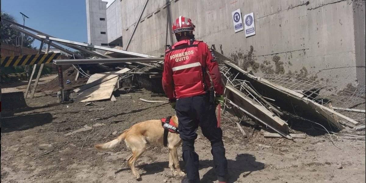 Quito: Cuatro heridos por colapso estructural en Carapungo