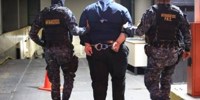 Desi Roberto Caballero, presunto narcotraficante salvadoreño capturado en Guatemala