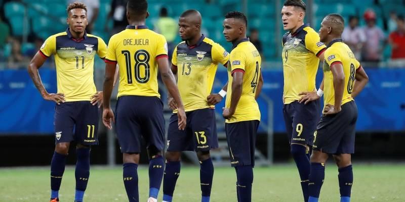 Resultado de imagen para seleccion ecuatoriana de futbol 2019