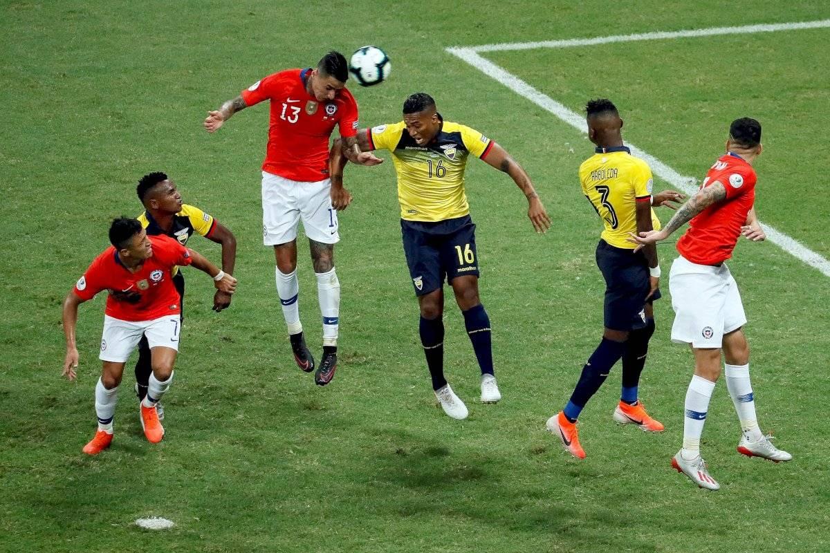 Ecuador vs Chile Copa América EFE
