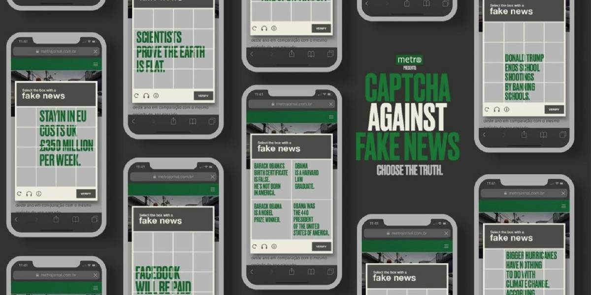 Projeto de combate a fake news do Metro ganha reportagem em conceituada revista de marketing