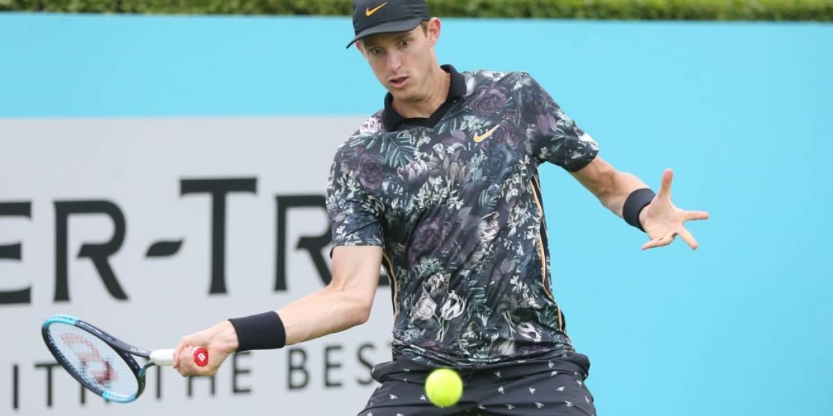 Nicolás Jarry debutó con un soberbio triunfo sobre Pablo Cuevas en el ATP 250 de Eastbourne