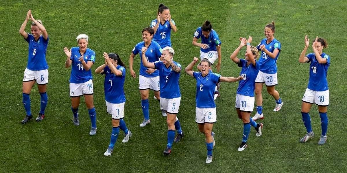 La sorpresiva Italia y Holanda se sumaron al poderío europeo en los cuartos de final del Mundial femenino