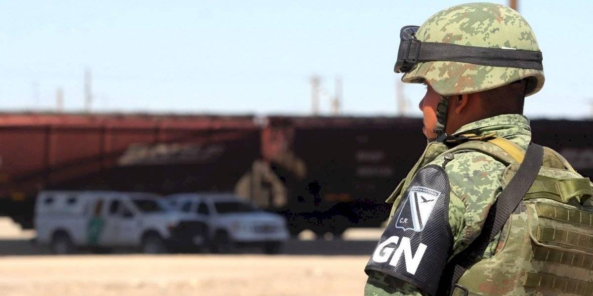 Guardia Nacional patrulla colonia que no figura entre las más inseguras