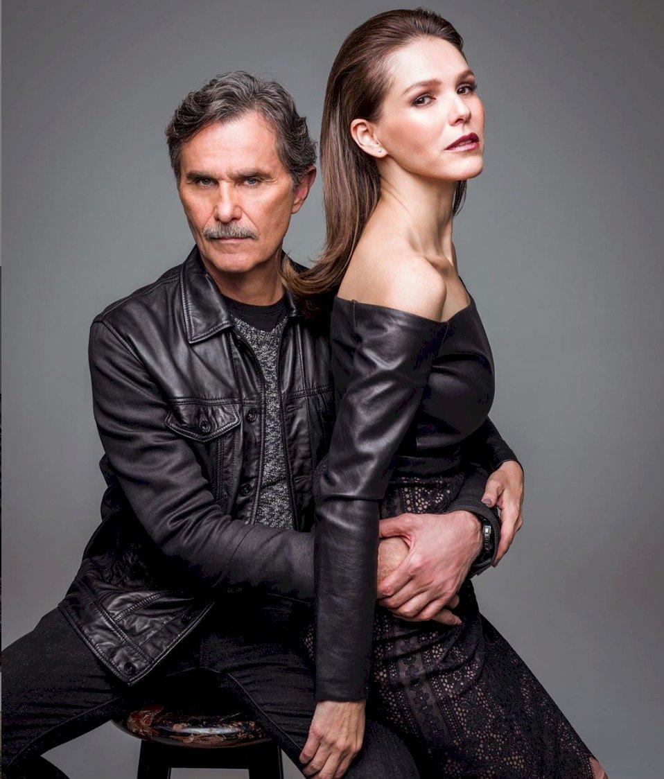 Los actores iniciaron un romance al ser compañeros en una telenovela Telemundo