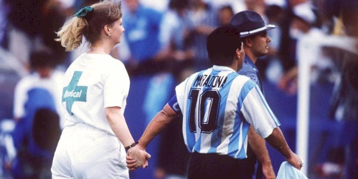 """Se cumplen 25 años del día que a Maradona """"le cortaron las piernas"""""""