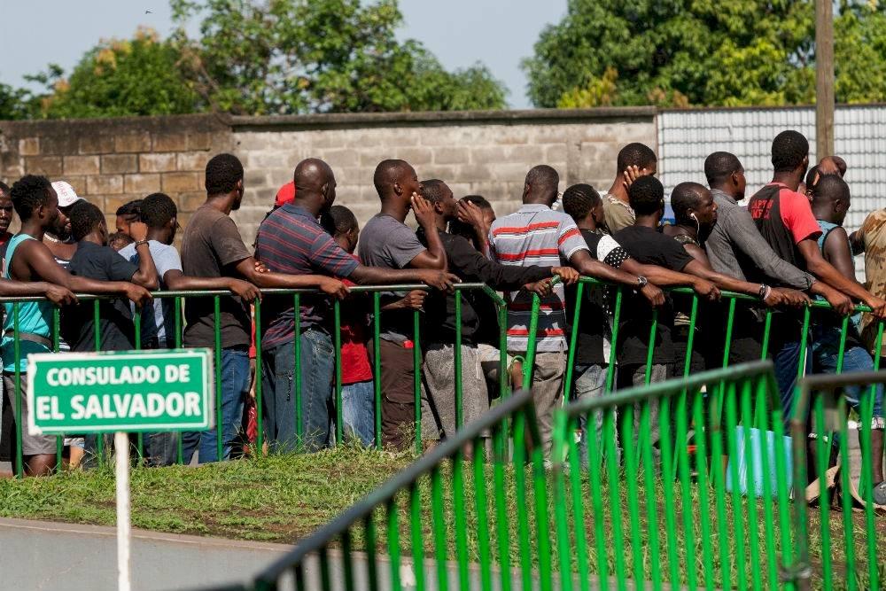 La demanda de los extranjeros es dejar la instalación por falta de alimentos y atención médica Foto: Cuartoscuro