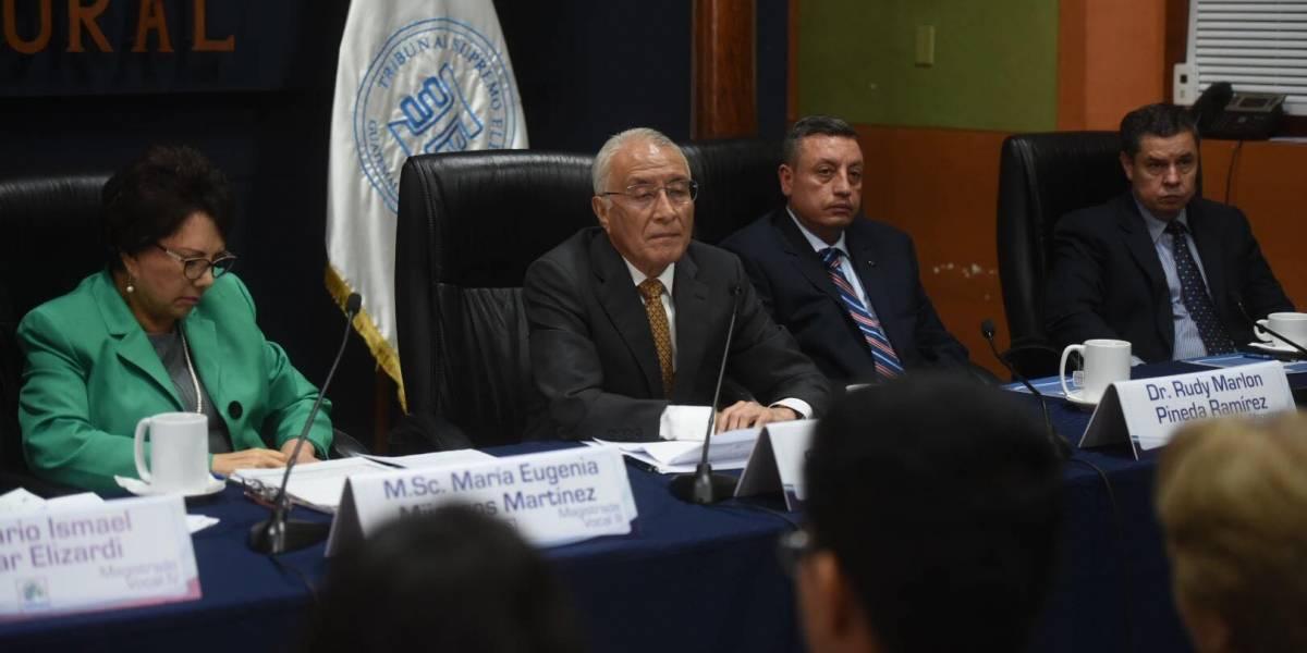 CGP rechaza declaraciones de magistrados del TSE y pide censura pública