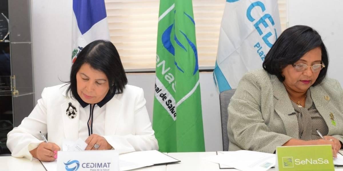 SeNaSa y CEDIMAT firman acuerdo para la reducción de morbimortalidad infantil por Cardiopatías Congénita