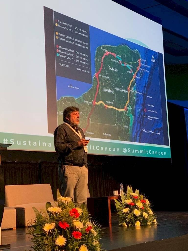 El mega proyecto correrá por cinco estados del país. Foto: Fonatur.