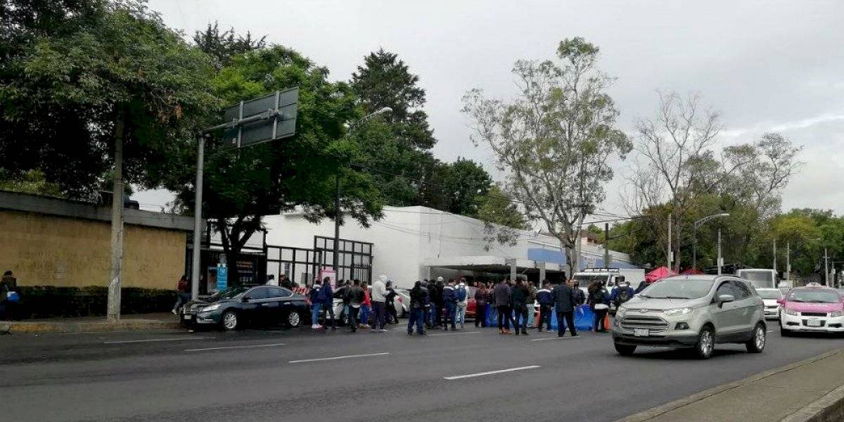 Trabajadores de la UNAM liberan Eje 10 Sur tras 8 horas de bloqueo