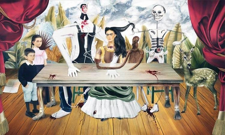 En México la policía detuvo a alguien tratando de vender famoso cuadro perdido de Frida Kahlo