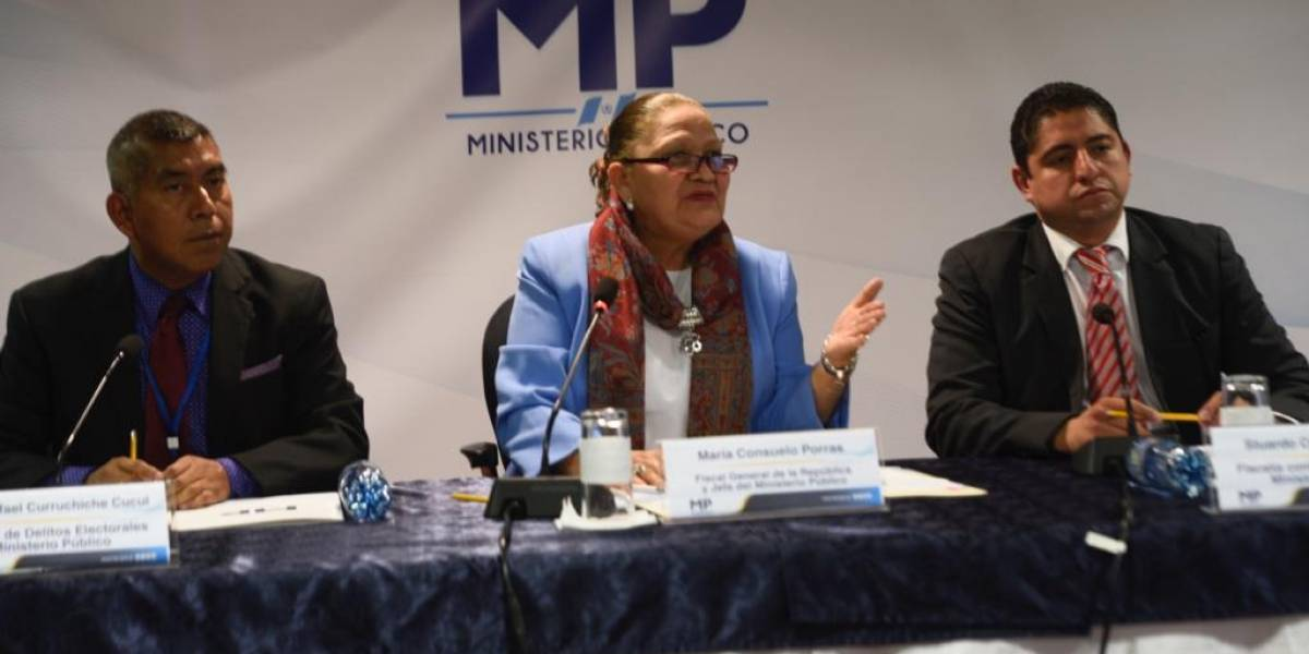 MP cotejará actas tras allanamiento en Informática del TSE