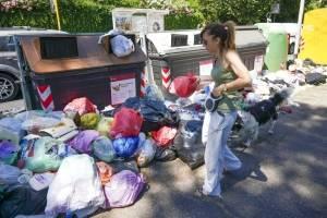 Crisis de la basura en Italia