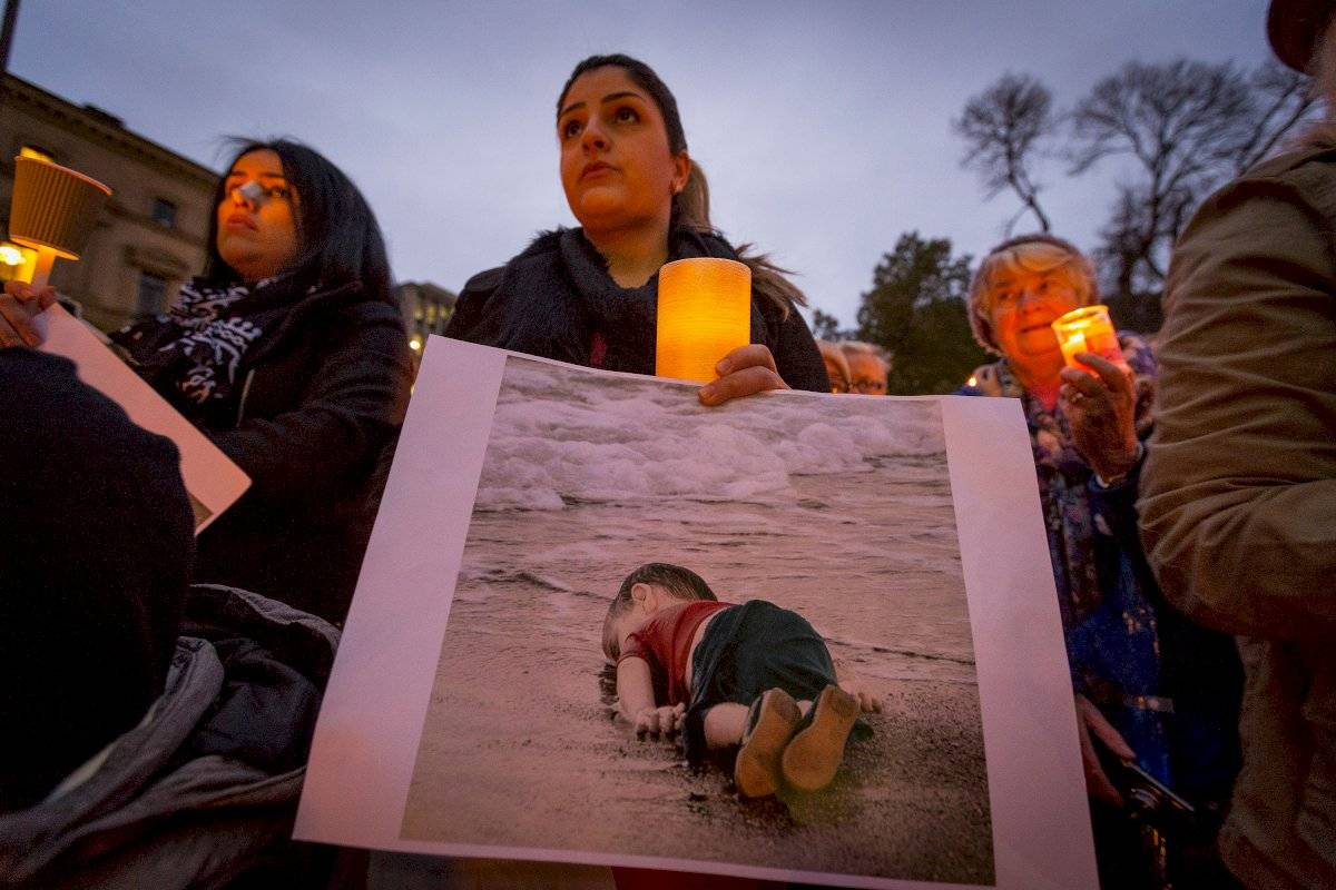 Aylan Kurdi homenagem