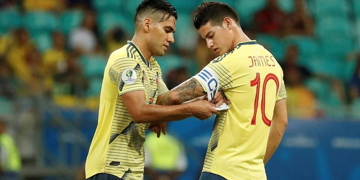 ¡De no creer! Las críticas de medio brasileño contra James Rodríguez y Falcao García