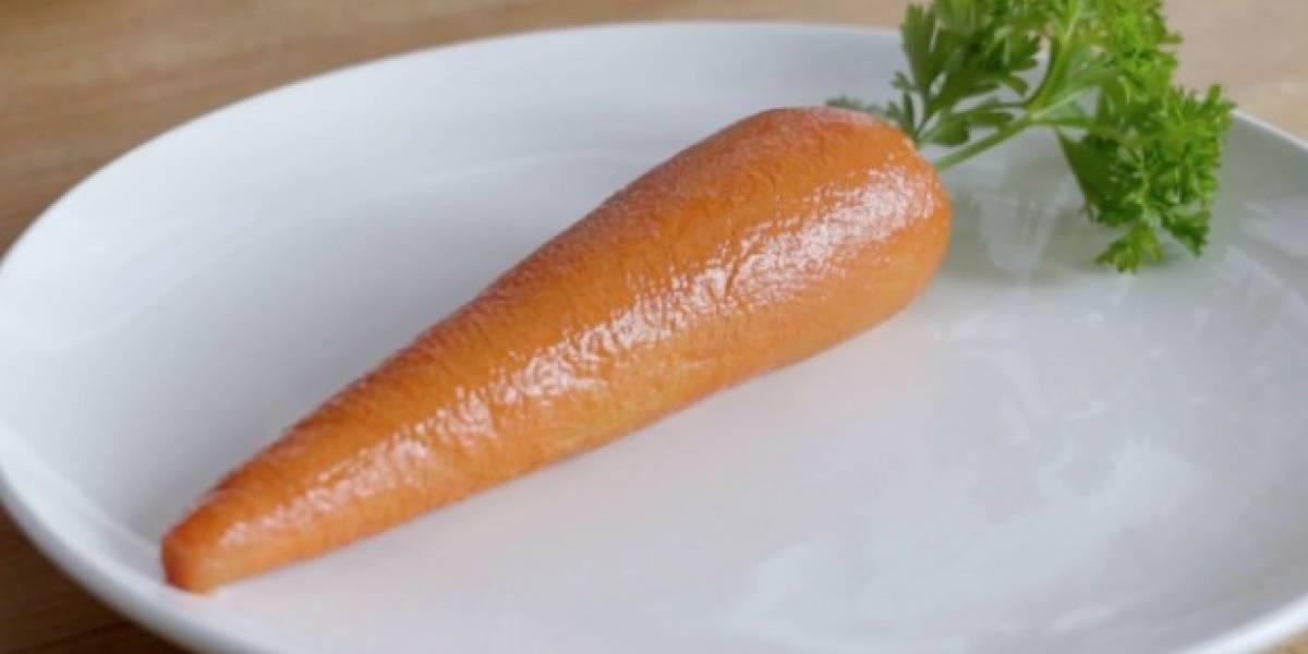 """""""No vives de ensalada"""": cadena de comida rápida crea la """"marrot"""" una polémica zanahoria hecha completamente de carne"""