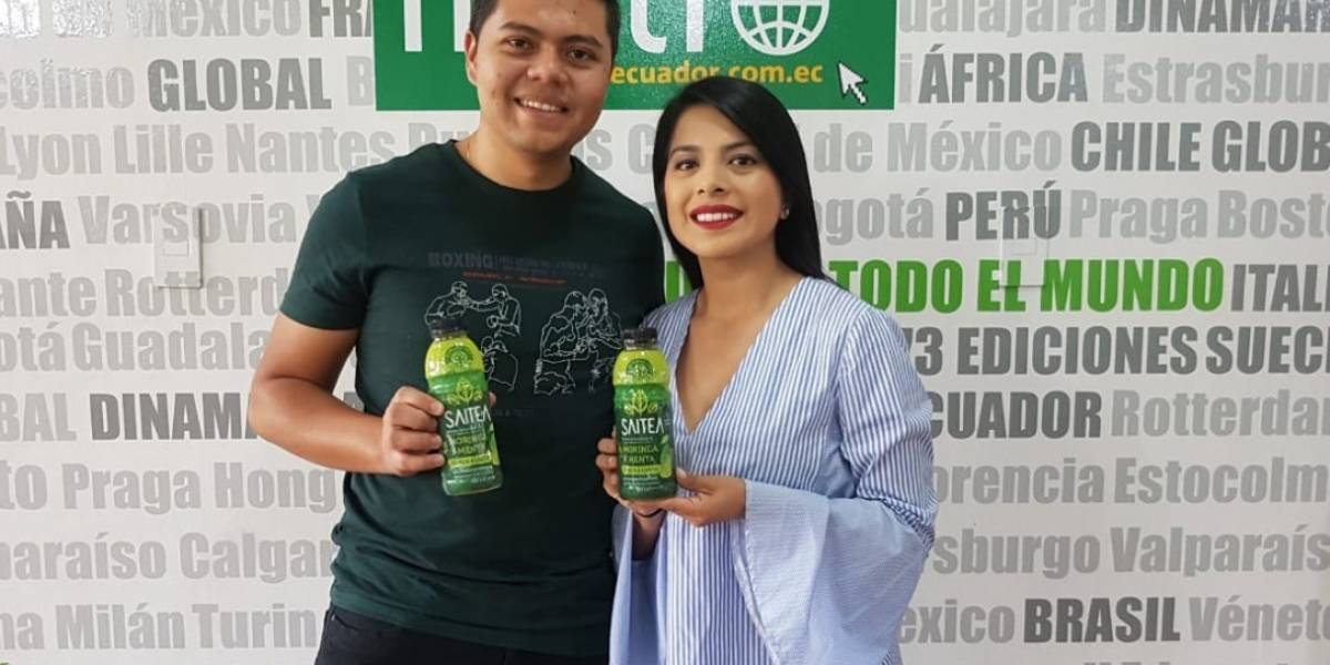 Saitea, el emprendimiento saludable a base de Moringa