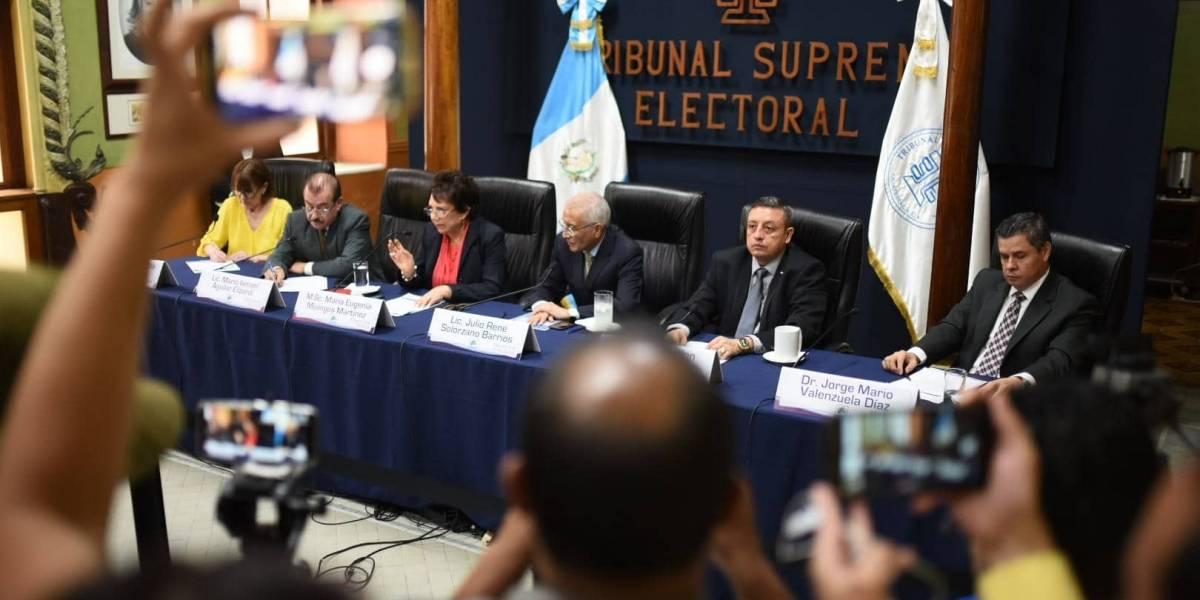 Magistrados y excandidatos a cargos públicos interesados en dirigir el TSE
