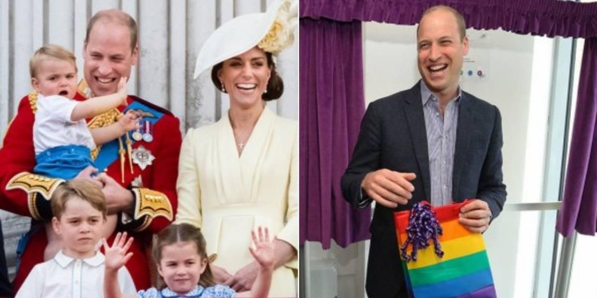 William e Kate Middleton apoiam a orientação sexual dos filhos: 'Não me preocupa se eles são gays'