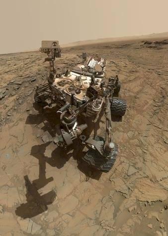 El rover Curiosity s